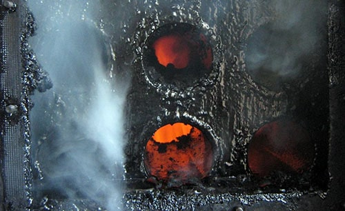 Загрязнение огнетрубного теплообменника