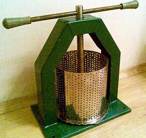Гвинтовий ручний верстат для пресування