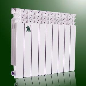 Секційна батарея з алюмінієвого сплаву