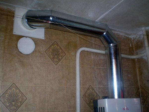 Дымоход в многоэтажке способы очистки дымохода от сажи