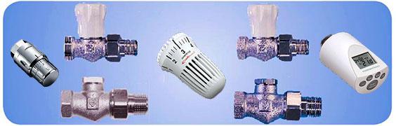 Клапаны и термоголовки