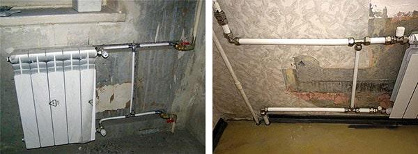 Полимерные трубы на централизованное отопление