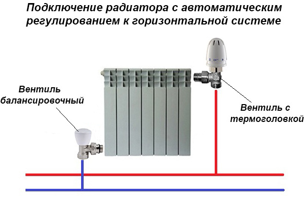 Схема с терморегулятором
