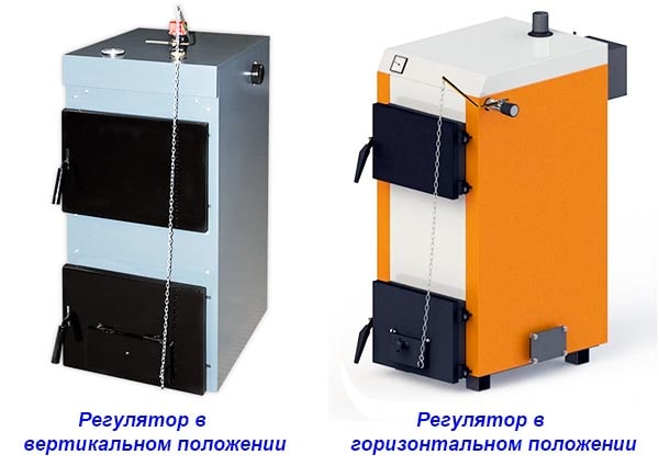 Способы установки регулятора температуры на котел