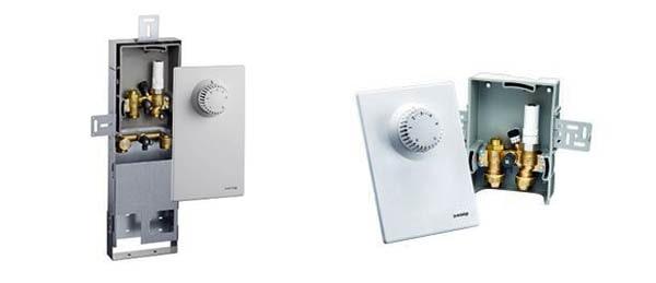 Пристрій для регулювання 1 контуру теплої водяної підлоги