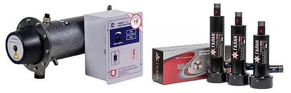 Котлы электрические – ТЭНовые и электродные