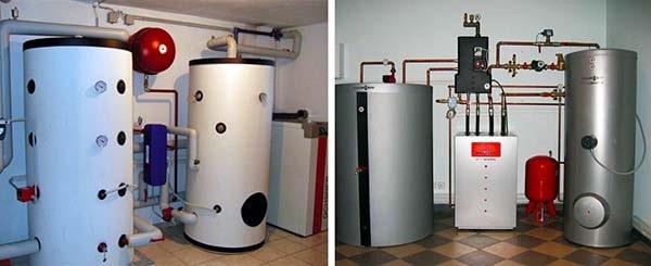 Бак-теплоаккумулятор для теплых полов