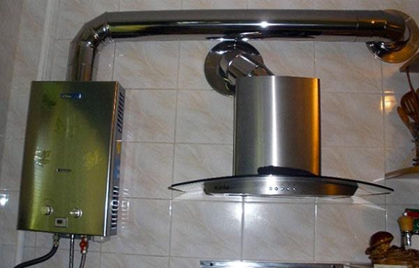 Дымоход для газового водонагревателя в квартире