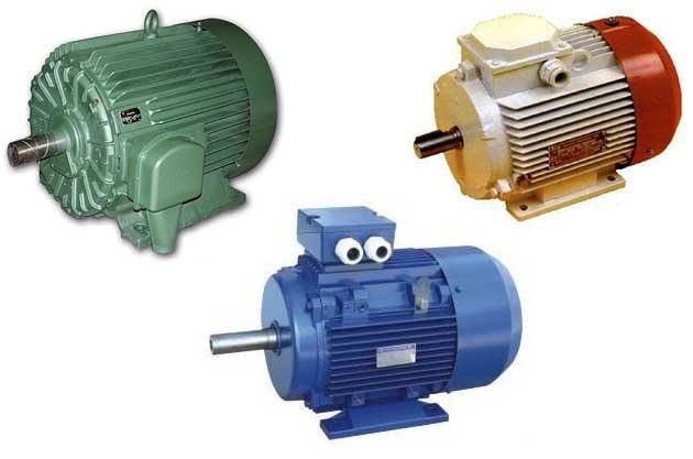 Электромотор для щепорезки