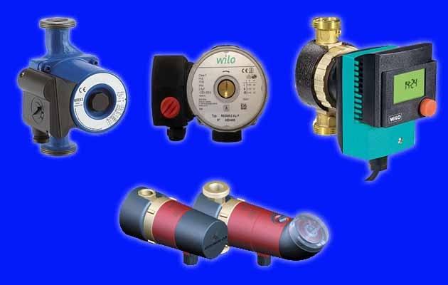 Побутові насосні апарати різних типів і брендів