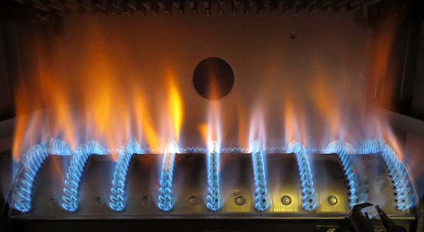 Gorelka gazovogo kotla