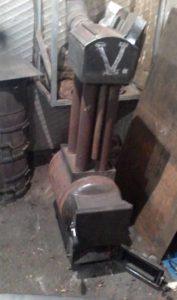 Отопительный агрегат из труб