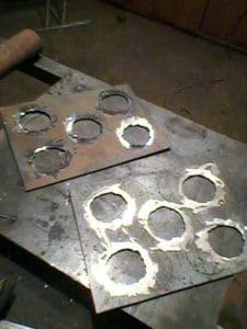 Изготовление фланцев теплообменника