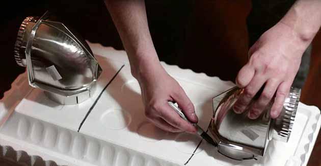 Як змонтувати повітряні патрубки
