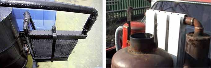 Радиаторы охлаждения для газогенератора