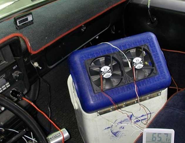 Саморобний кондиціонер для автомобіля