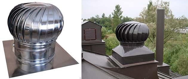 Виды ротационных дефлекторов