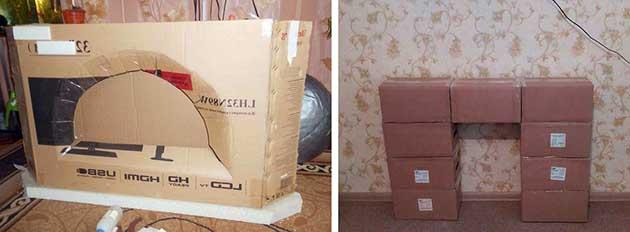 Склеивание картона и коробок