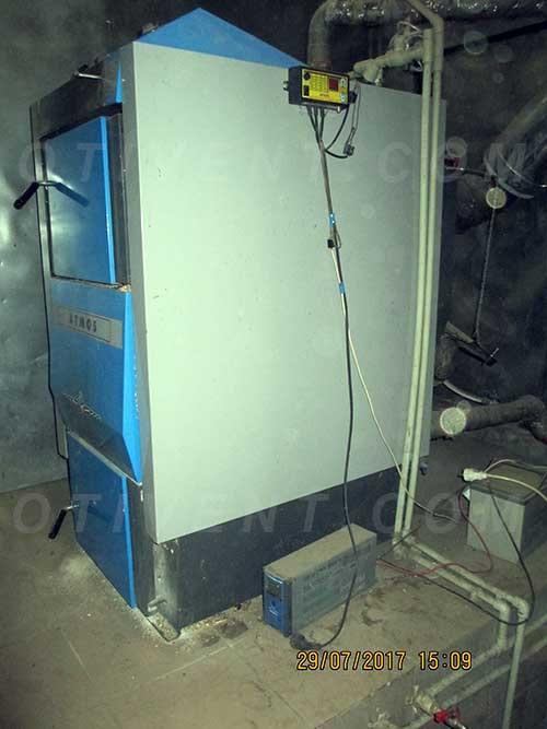 Монтаж піролізного котла в будинку