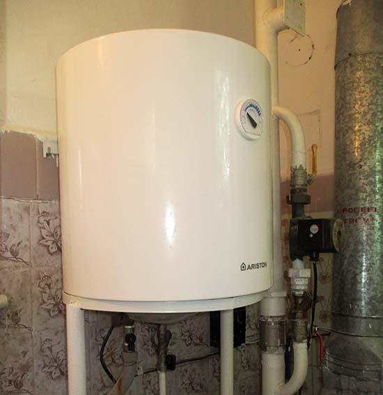 Маленький водогрейный агрегат на 50 л
