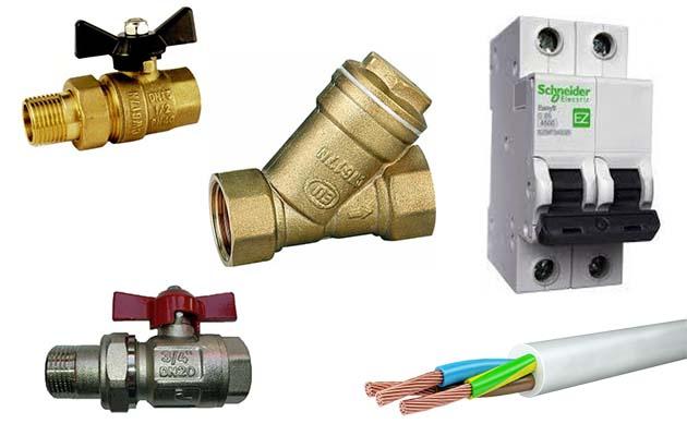 Набор для присоединения газового отопителя