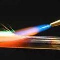 Пламя водородной горелки