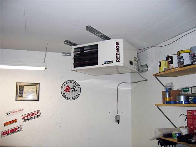 Подвесной отопительный агрегат