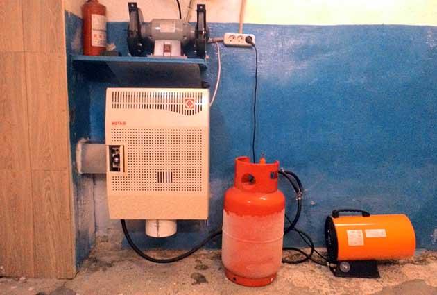 Газовый конвектор на пропане