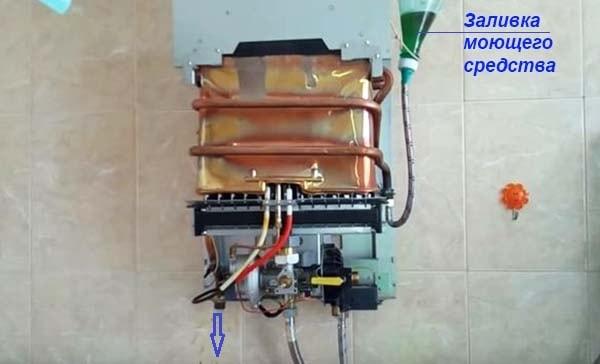 Как залить жидкость в теплообменник без разборки