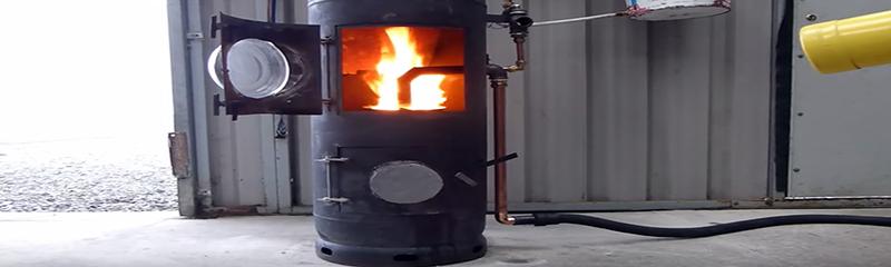 Как изготовить масляный отопитель