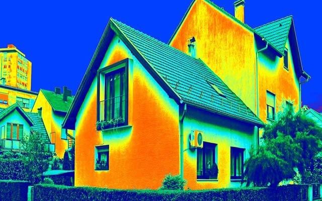 Теплограма заміського будинку