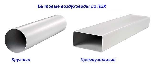 Полимерные вентканалы для вытяжки