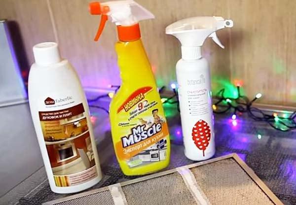 Засоби для очищення плит і духовок