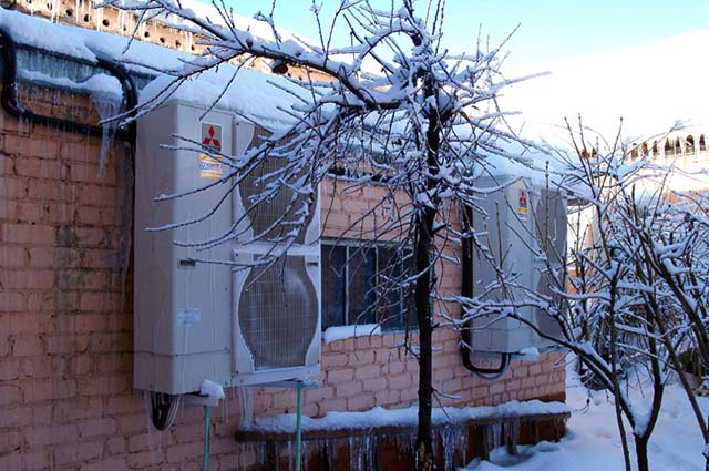 Тепловий насос для опалення приватного будинку