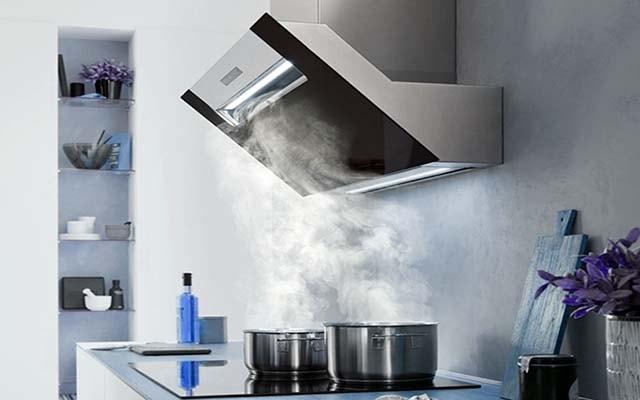 Загрязнение воздушной среды на кухне