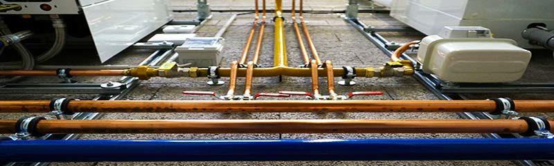 Структура двухтрубной отопительной сети