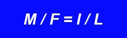 Уравнение механики рычага
