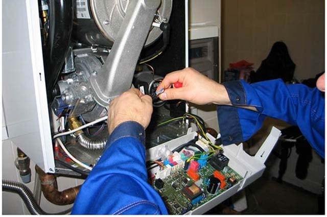 Плата управления конденсационного теплогенератора