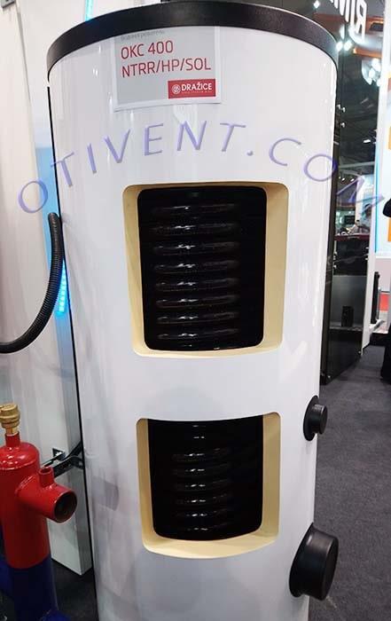 Косвенный водонагреватель на 400 литров