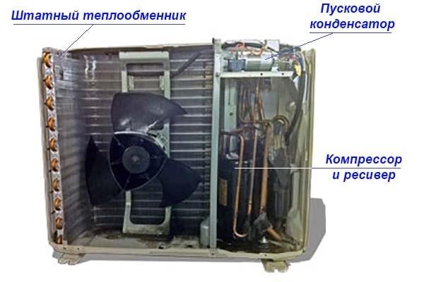 Как разобрать наружный блок сплит-системы