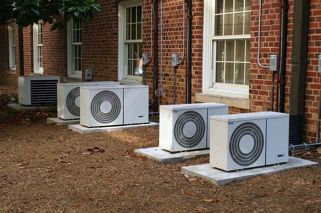 Обогрев тепловым насосом воздух - воздух