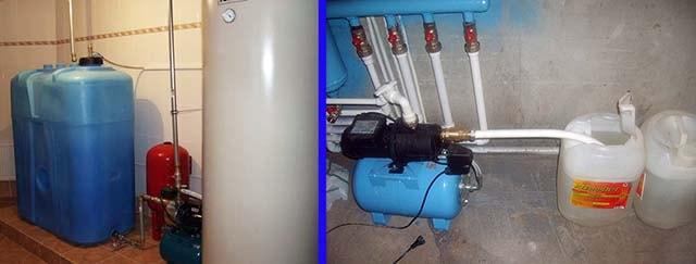 Резервуар с антифризом для пополнения системы