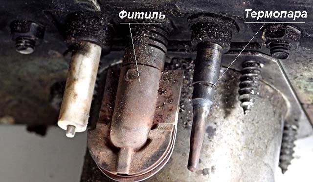 Как почистить термопару газовой колонки