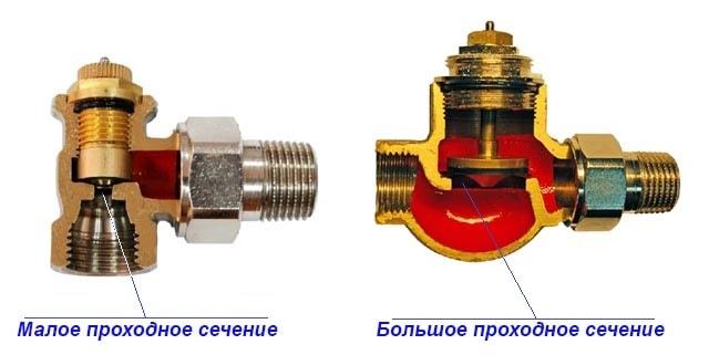 Радиаторные термостатические вентили в разрезе
