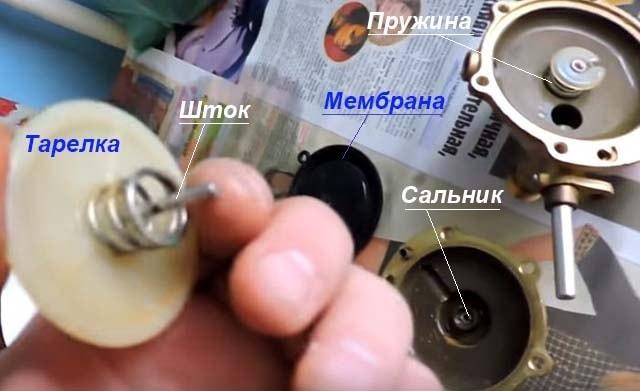 Как снять и почистить шток водяного узла
