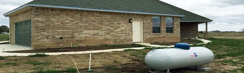 Обогрев жилого дома газовым топливом