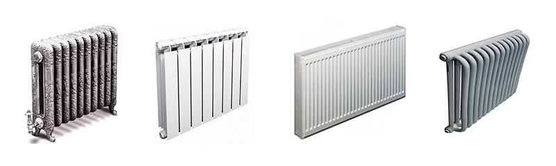 Виды радиаторов отопления в новостройке