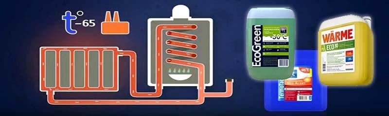 Незамерзающие жидкости, применяемые в отопительных системах