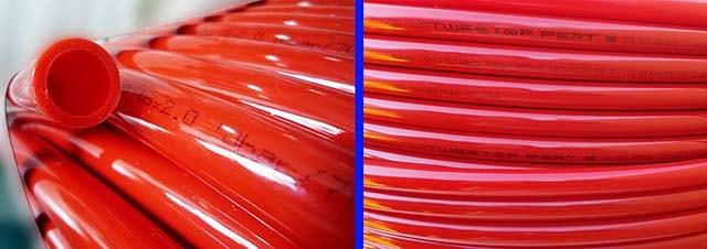 Труби PE-RT в бухті для системи опалення