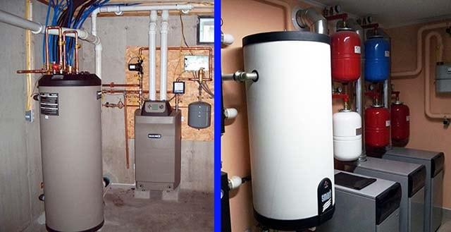 Способи встановлення водогрійного резервуара